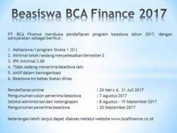 BCA FINANCE 2017